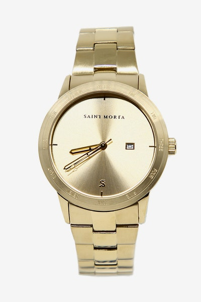 Saint Morta 36 Chambers Watch Gold/Gold