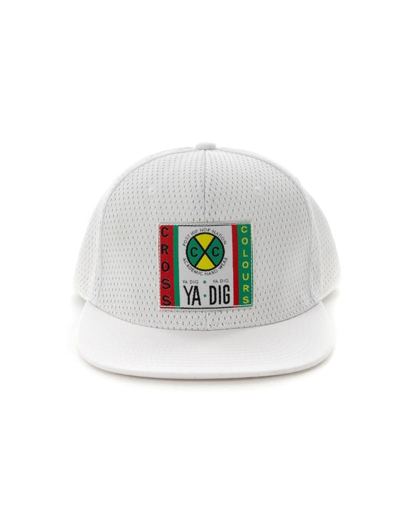 Cross Colours LA Mesh Snapback White