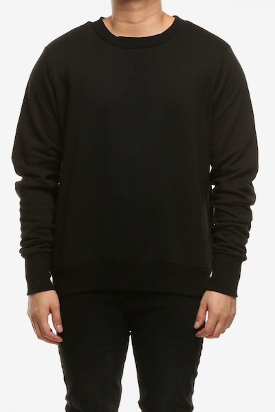 Elevn Clothing Co Glow Jumper Black