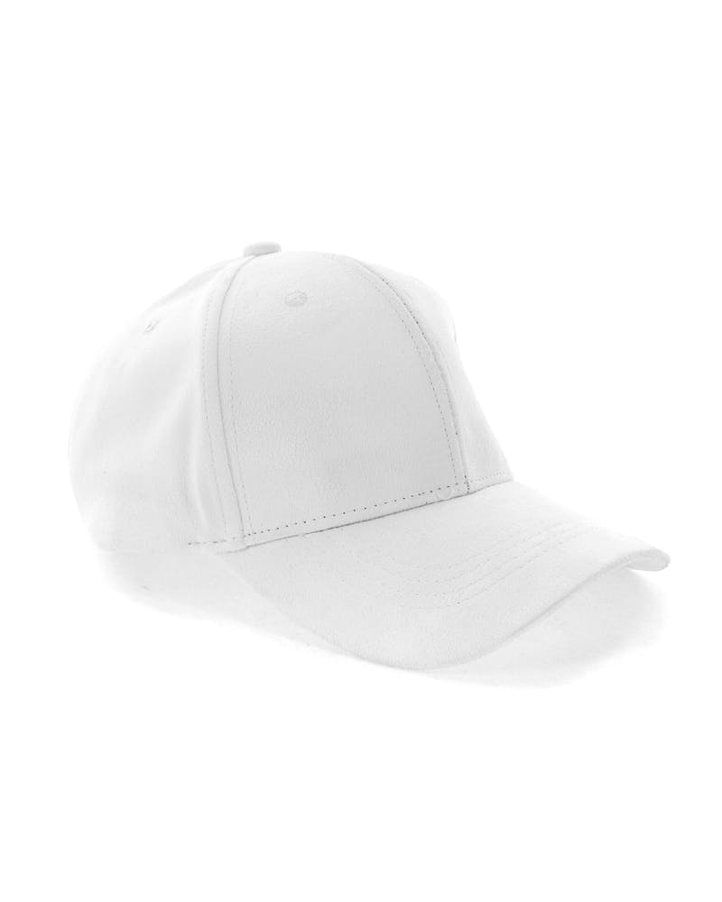 Elevn Clothing Co Suede Hat White