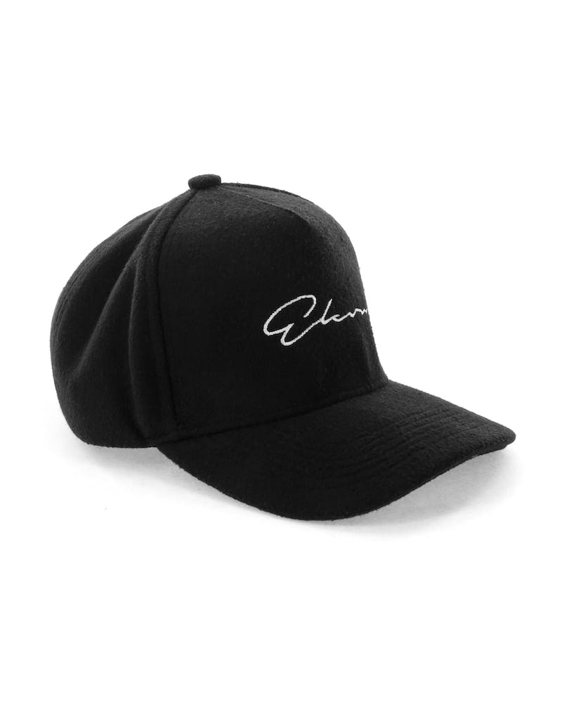 Elevn Clothing Co Signature Wool Hat Black
