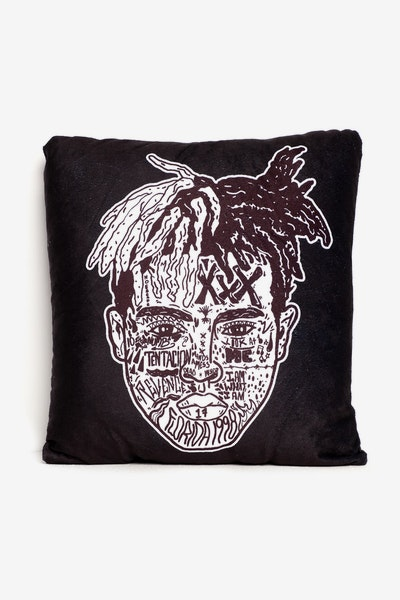 Goat Crew XXX Expression Pillow Black/White