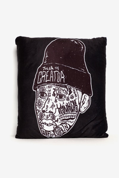Goat Crew Tyler Expression Pillow Black/White