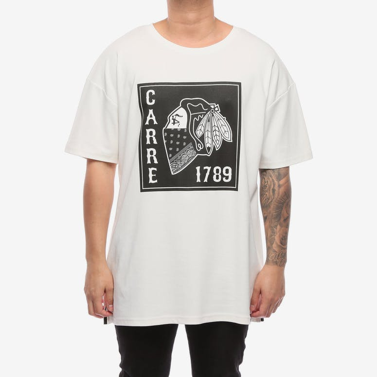 Carré Native Terreux SS Tee Off White