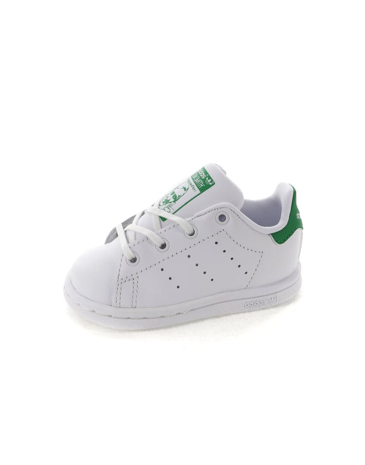 best service ca41d 11e0f Adidas Stan Smith Infant White/Green