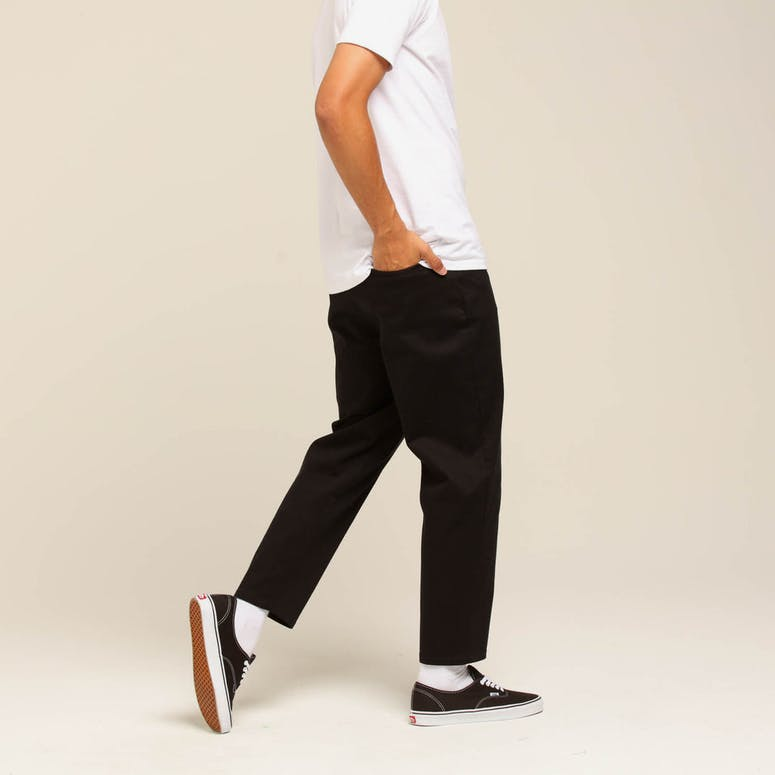 Loiter NYC Tatics Cropped Trousers Black