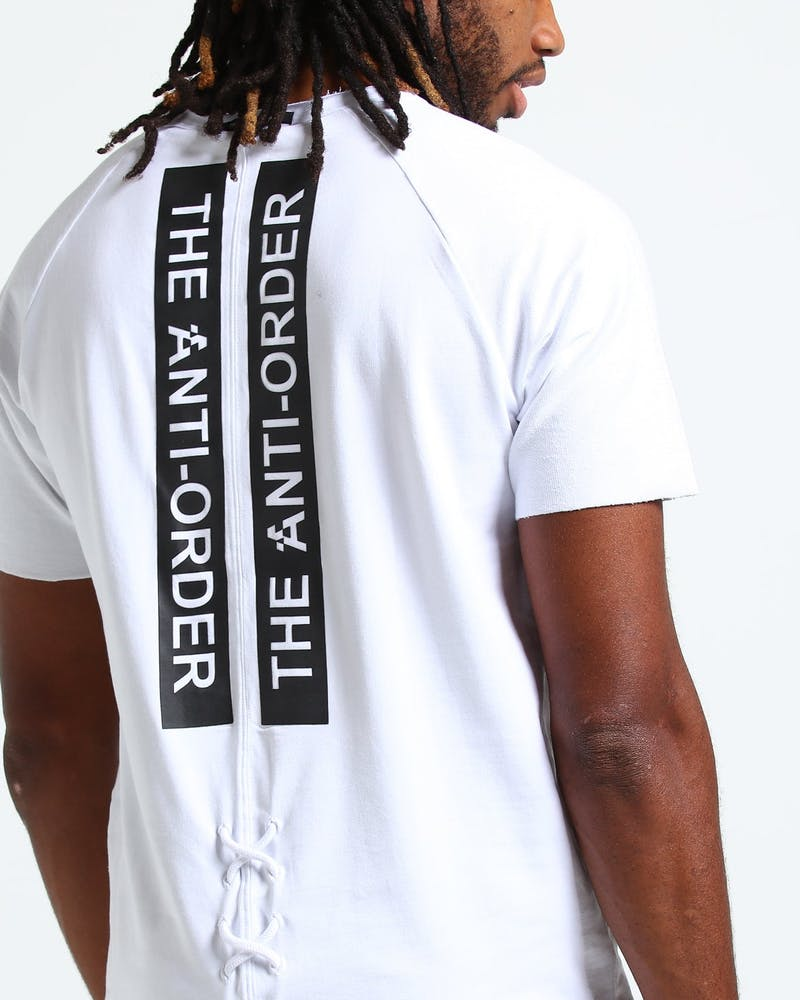 The Anti-Order Non-Index Sweat Tee White