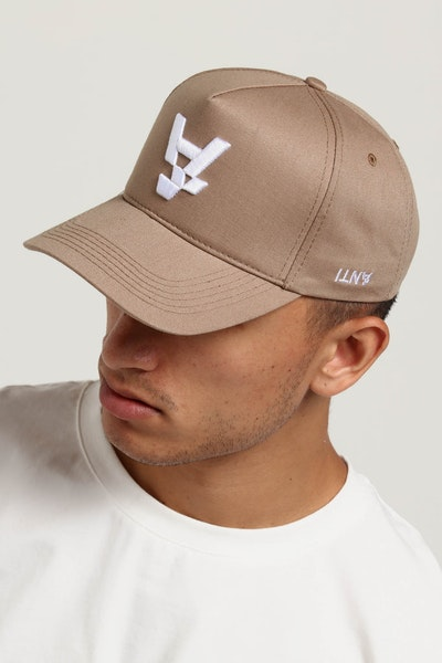 The Anti-Order A Logo Strapback Tan/White