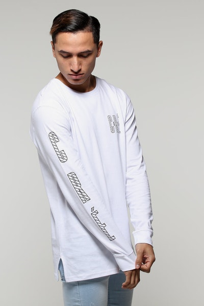 Carré Specification Divise LS Tee White