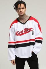 Last Kings Breakout Jersey White/Red/Black