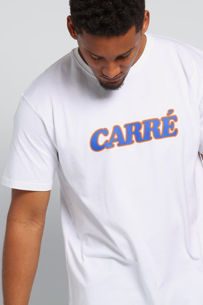 Carré Charmant Divise SS Tee White