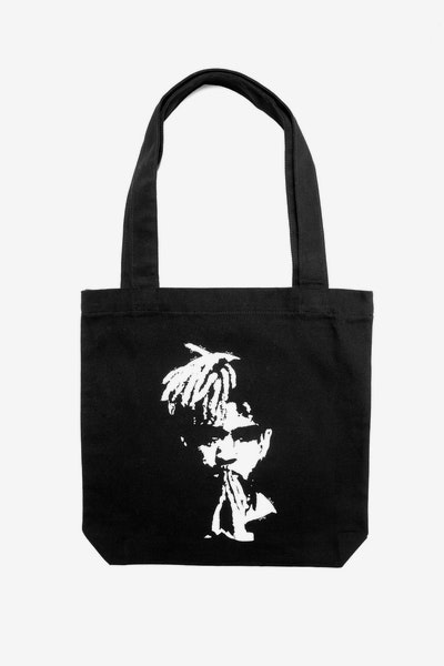 Goat Crew XXX Spray Tote Bag Black
