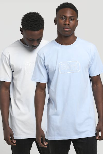 Carré LA Hypercolour Divise SS Tee Light Blue
