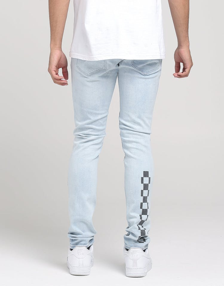 New Slaves Square Space Jeans Light Blue