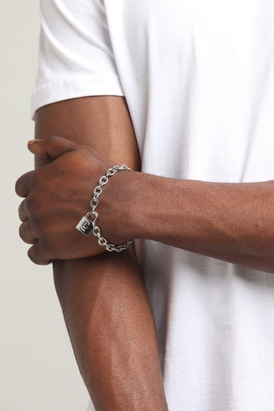 Carré Locked Up Bracelet Silver