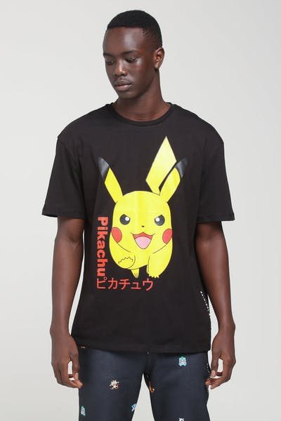 Criminal Damage X Pokémon Pikachu Tee Black