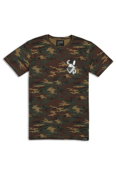 Carré Masked Up 2 Divise SS Tee Camo