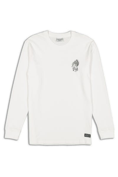 Rats Get Fat Chief LS Tee White