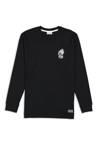 Rats Get Fat Chief LS Tee Black