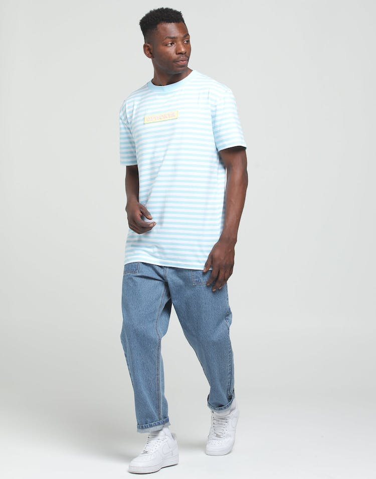 Odd Future OFWGKTA Stripe Tee Blue/White
