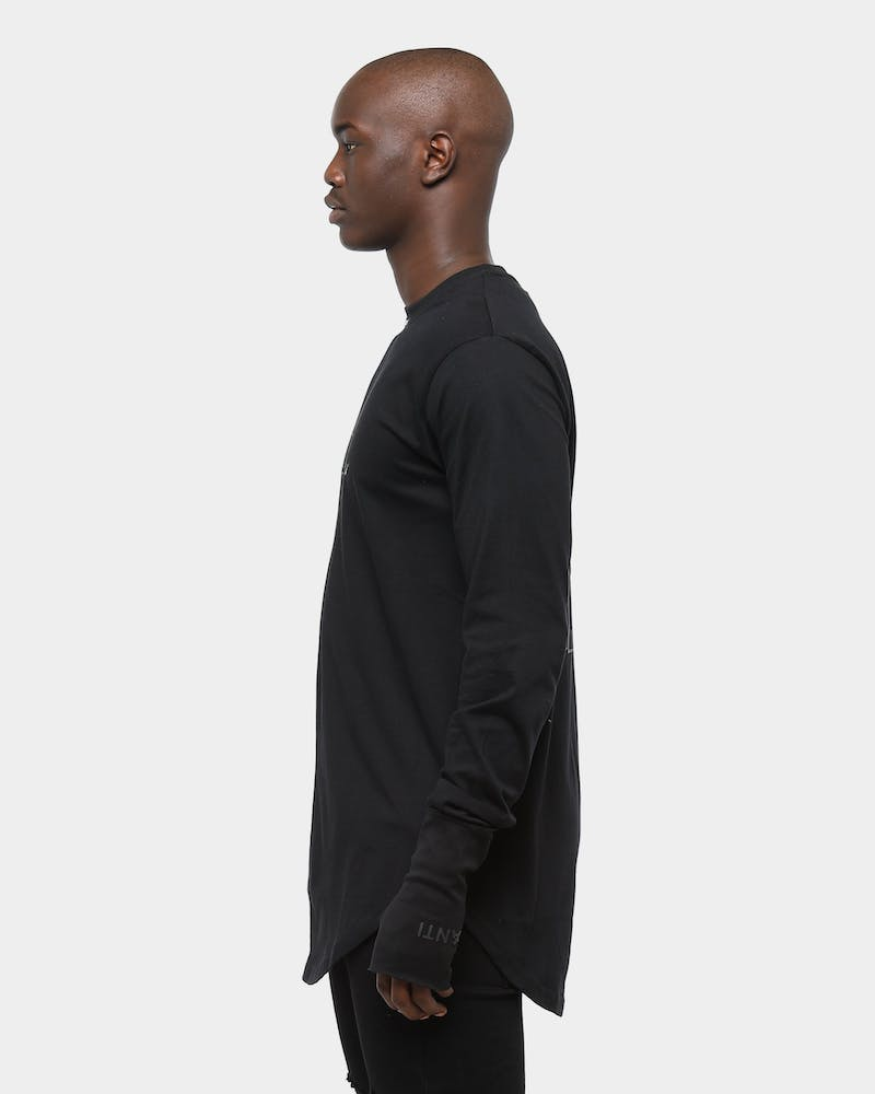 The Anti-Order XY Aesthetic Legion LS Tee Black