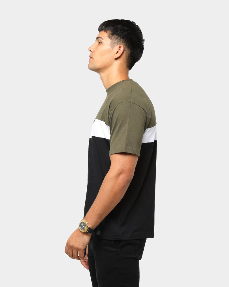 ENES Men's Symmetric Panel T-Shirt
