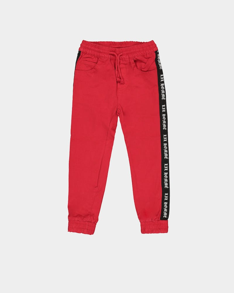 Lil Hommé Kids HYP Jogger Red