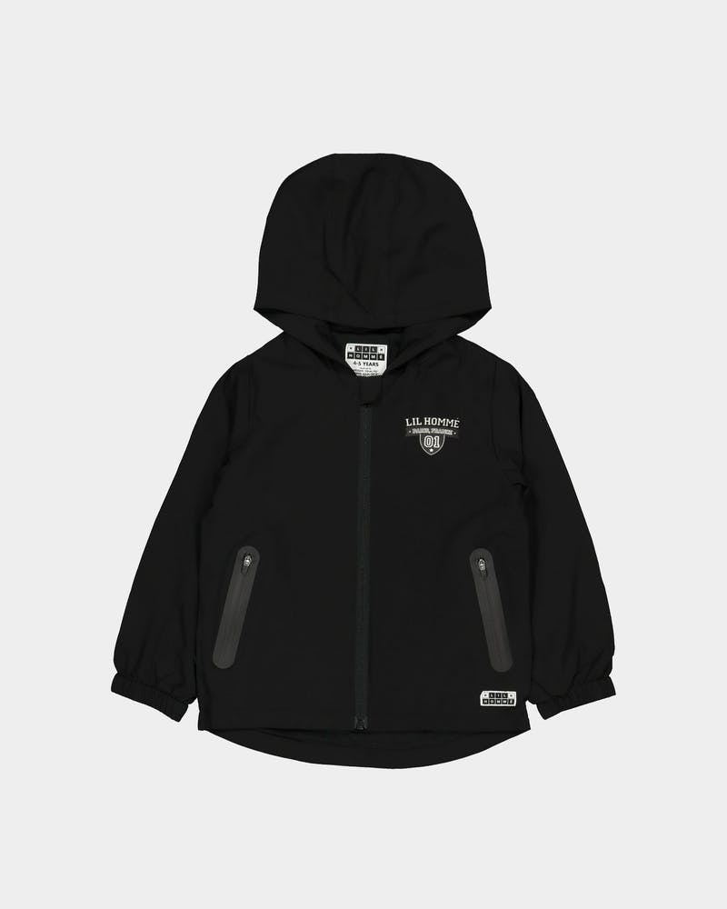 Lil Hommé Kids Defence Windbreaker Black