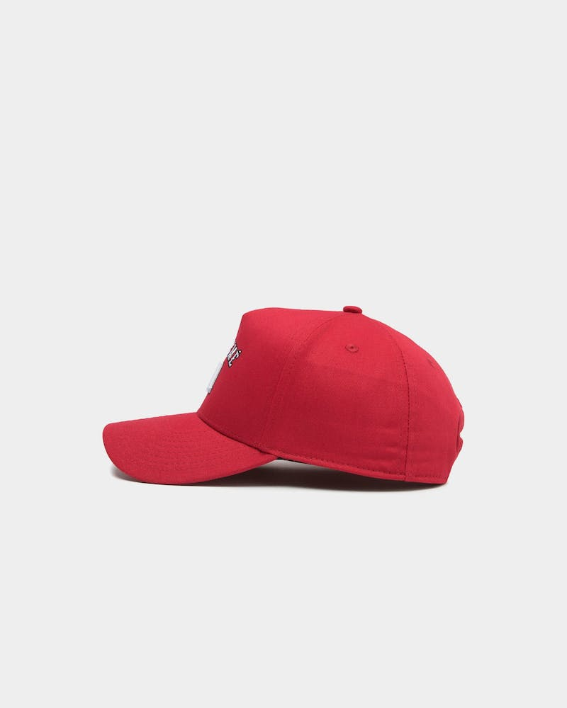 Lil Hommé Kids Youth Jouer A-Frame Snapback Red
