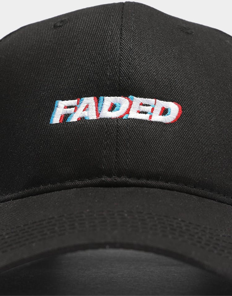 Goat Crew Faded Strapback Black