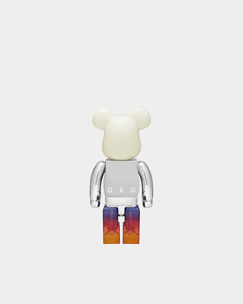 Medicom Toy BE@RBRICK GEO 400% Multi-Coloured