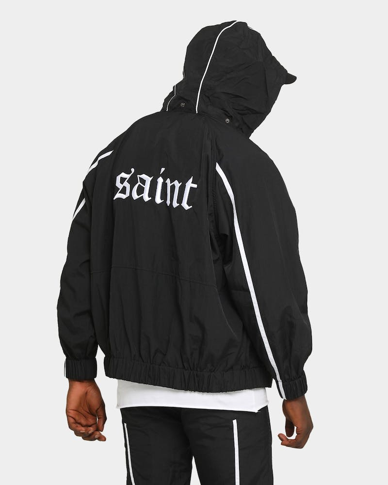 Saint Morta Era Windbreaker Black/White
