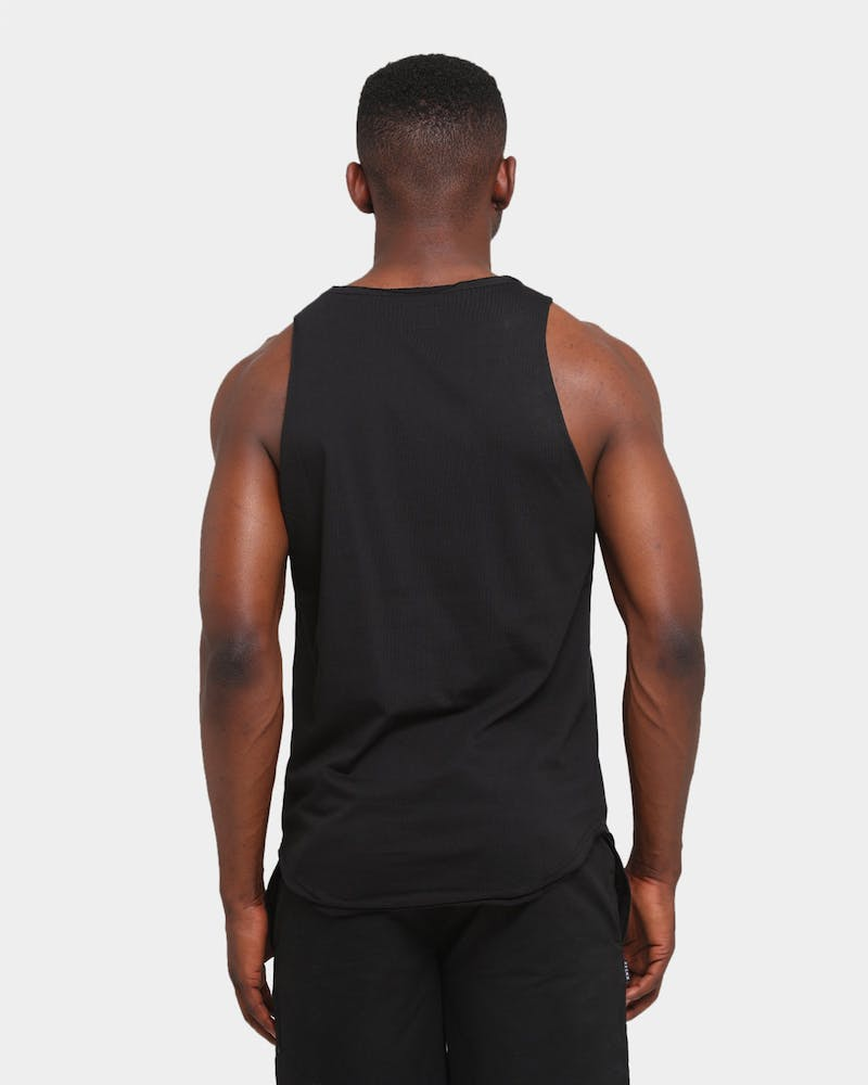 Elevn Clothing Co. Mini Capital E Singlet Black