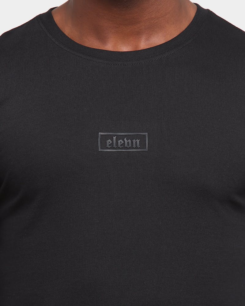 Elevn Clothing Co. Primitive Long Sleeve T-Shirt Black