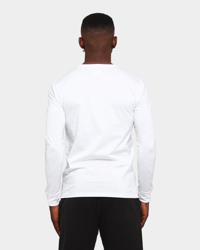 Elevn Clothing Co. Primitive Long Sleeve T-Shirt White