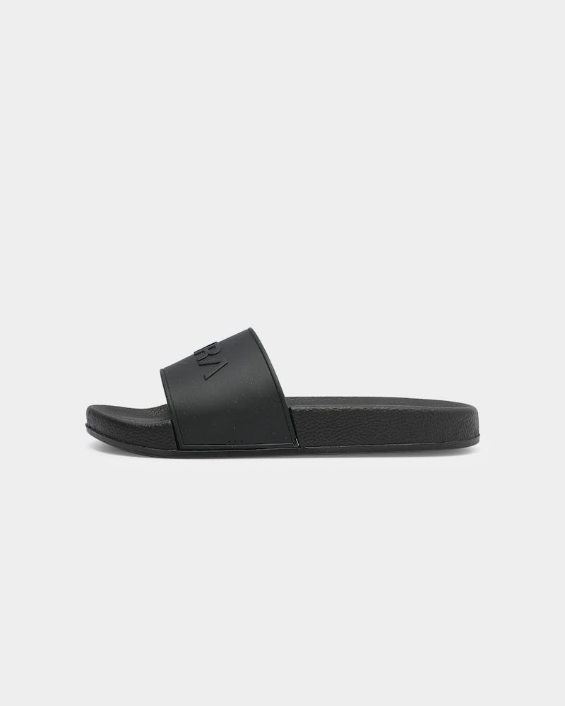 PYRA Pool Slides V2 Black/Black/Black