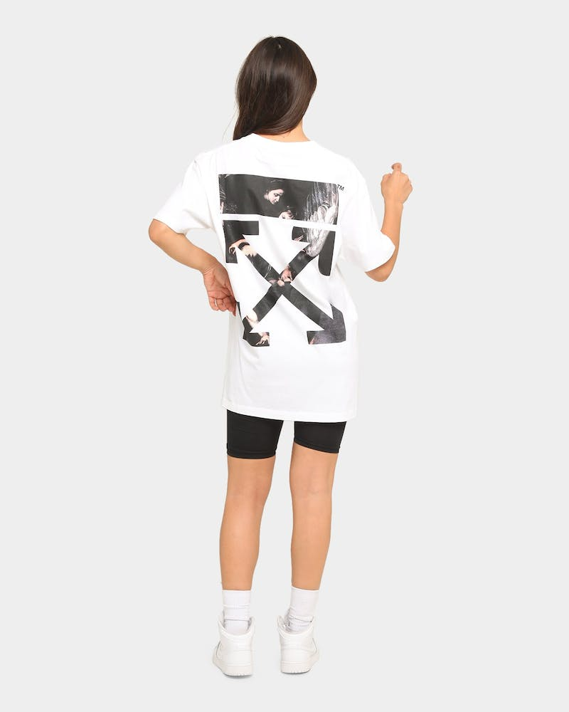 Off White Caravaggio Arrows S/S T-Shirt White
