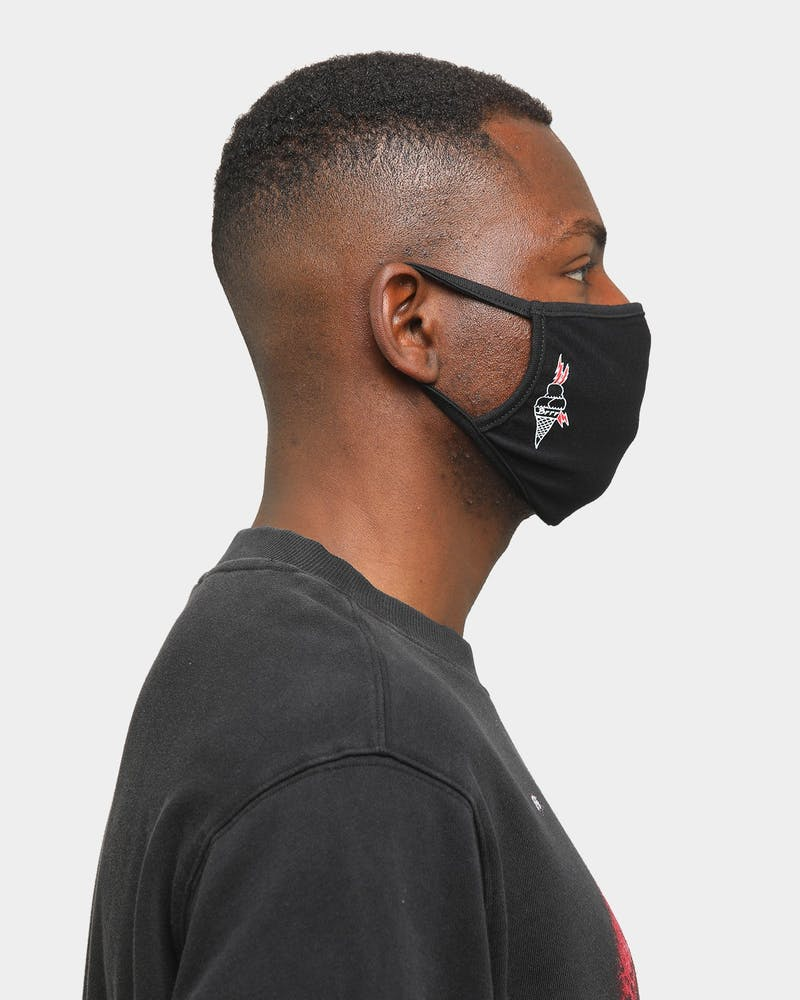 Goat Crew Brrr Face Mask Black