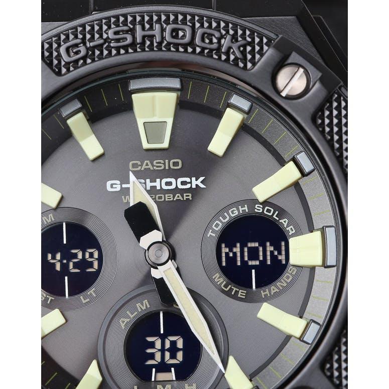 G Shock Gsts130 Cordura G Steel Black Olive