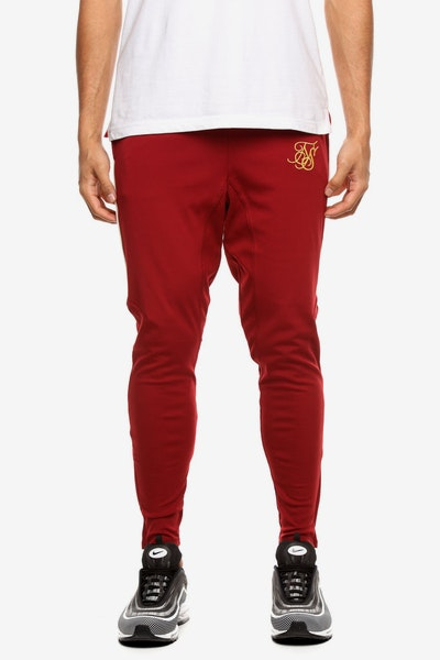 Sik Silk Zonal Track Pant Red