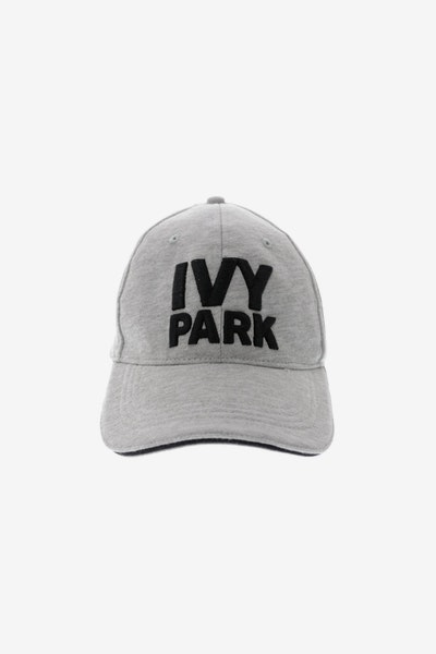Ivy Park Logo Baseball Cap Light Grey