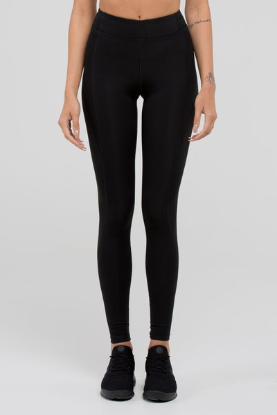Ivy Park 'Y' High Rise Ankle Legging Black
