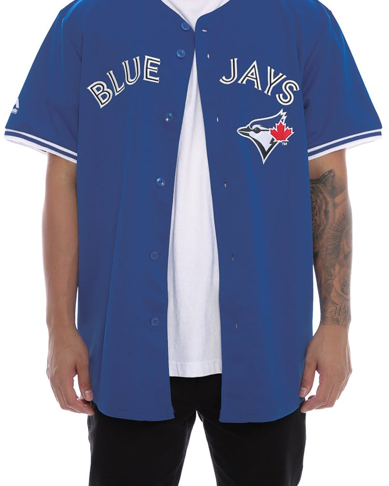 Majestic Athletic Blue Jays Replica Jersey Royal
