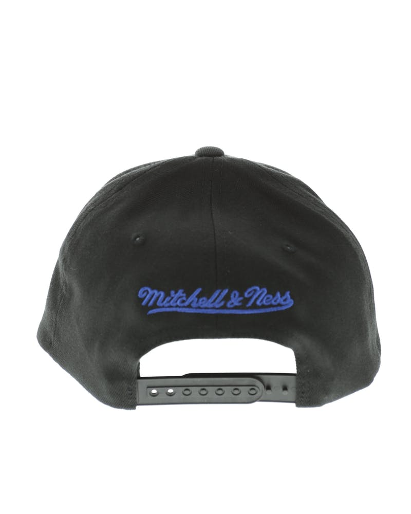 Mitchell & Ness Los Angeles Rams Flex 110 Embroidered Logo Snapback Black/White/Blue