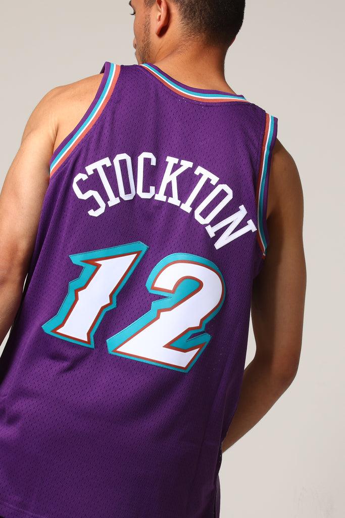 f9ea0d2aa ... sale mitchell ness utah jazz john stockton 12 nba jersey purple 8d41e  1a394 ...