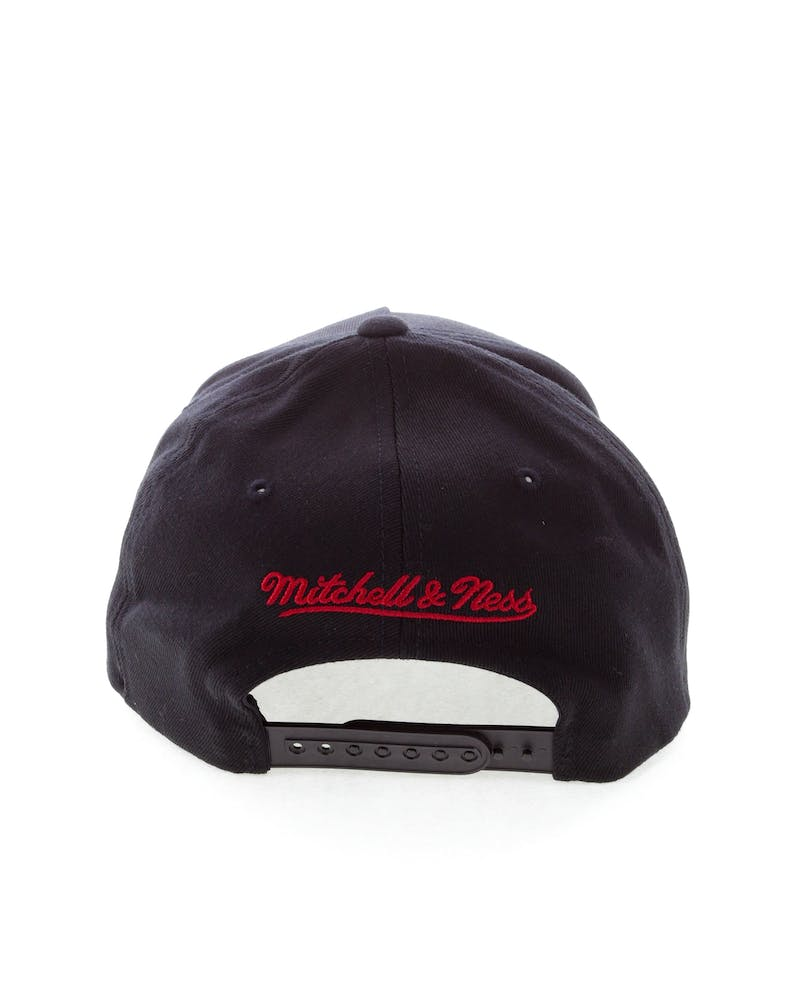 Mitchell & Ness Miami Heat 110 Pinch Snapback Black