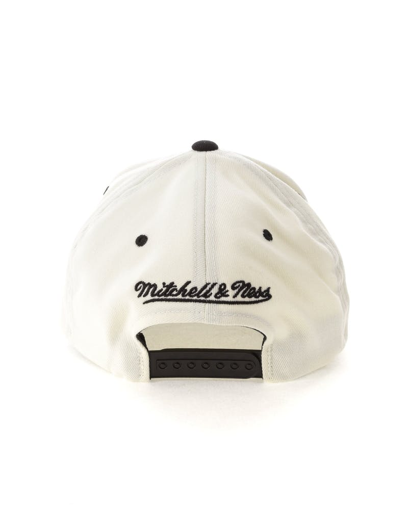Mitchell & Ness Pittsburgh Steelers Script 110 Snapback White/Black