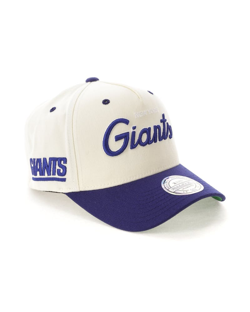 Mitchell & Ness New York Giants 110 Snapback White/Royal