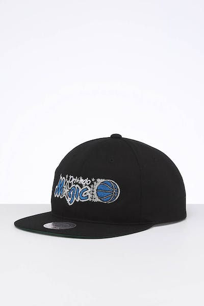 Mitchell & Ness Orlando Magic Team Logo Deadstock Snapback Black