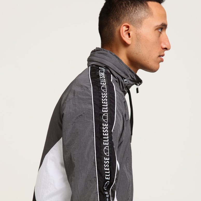 ellesse lapaccio track jacket grey white black 2ce4d3ec29f